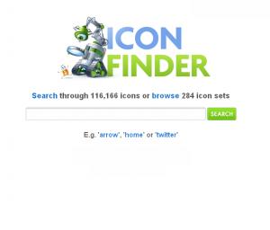 легкий поиск картинок и иконок для вебсайта