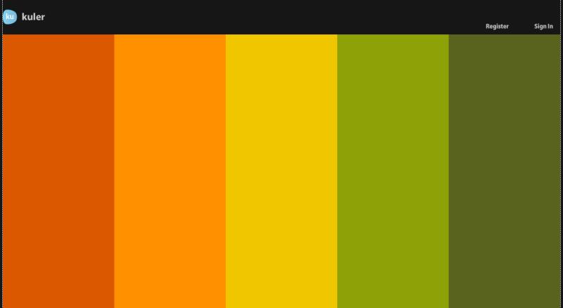 вернее цветовую схему