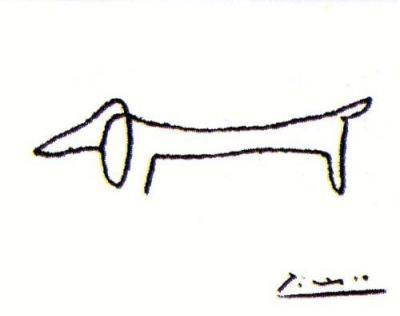 pablo picasso dog