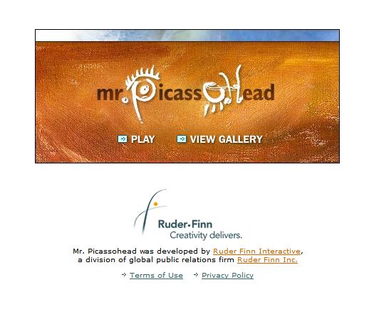 Mr. Picassohead, start